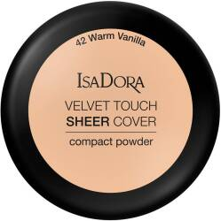 ISA DORA VELVET TOUCH SHEER COVER #42 Puder Do Twarzy
