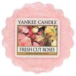 YANKEE CANDLE wosk zapachowy FRESH CUT ROSES