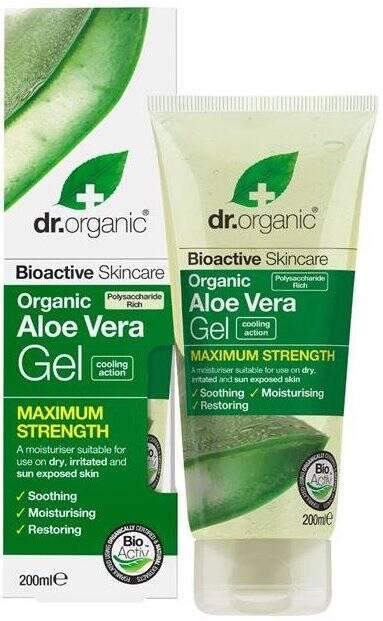 Dr.Organic Aloe Vera żel do ciała z aloesem 200ml