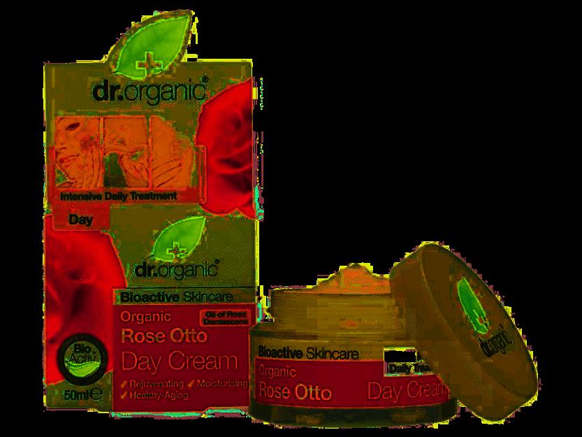 Dr.Organic Rose krem na dzień z olejkiem różanym 50ml