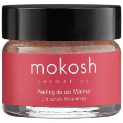 mokosh PEELING DO UST malina 15ml