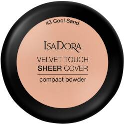 ISA DORA VELVET TOUCH SHEER COVER #43 Puder Do Twarzy