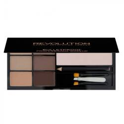 REVOLUTION paleta do brwi ULTRA BROW Fair to Medium