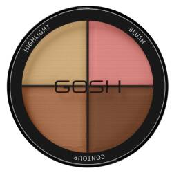 GOSH Contour'n Strobe Kit paletka do konturowania #002 Medium