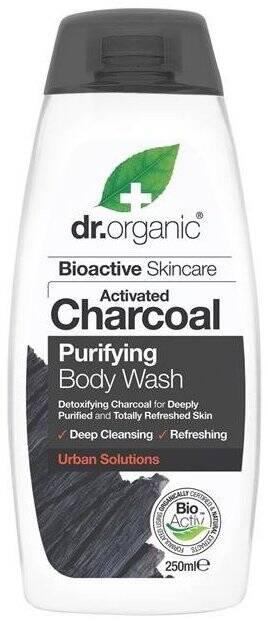 Dr.Organic Charcoal żel do mycia ciala z atywnym węglem 250 ml