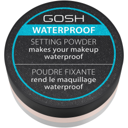 GOSH puder sypki wodoodporny Setting Powder Waterproof #001 Transparent