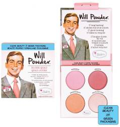 the Balm WILL POWDER BLUSH QUAD paletka do makijażu