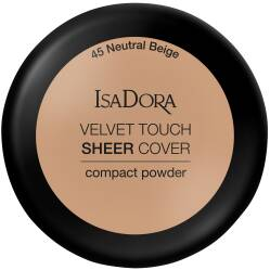 ISA DORA VELVET TOUCH SHEER COVER #45 Puder Do Twarzy