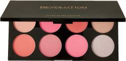 REVOLUTION paleta róży BLUSH ALL ABOUT PINK