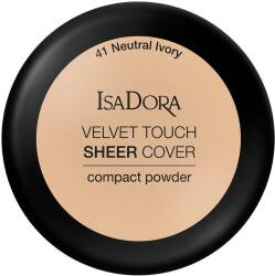 ISA DORA VELVET TOUCH SHEER COVER #41 Puder Do Twarzy