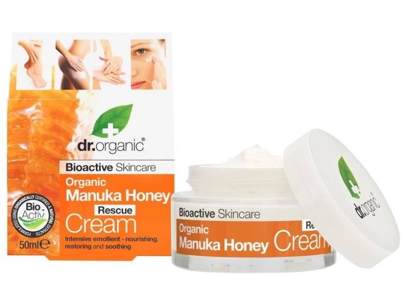 Dr.Organic MANUKA krem odżywczy do twarzy i ciała